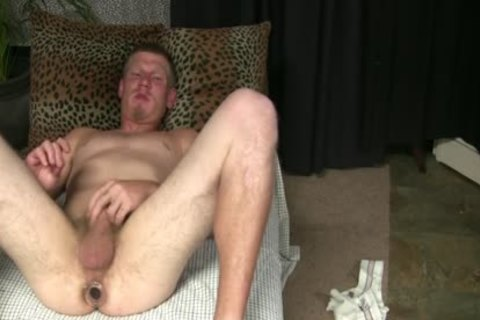 STREET man'S butthole TAKES EVERTYTHING!!! not quite FISTED!!