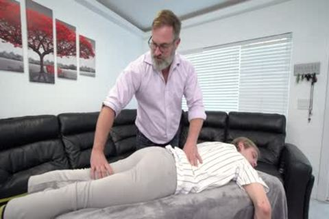 pumped up twink Massaged And banged By Stepdad