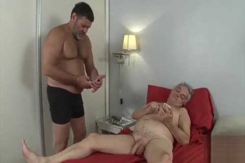 grand-dad Want To Be fucked By A Daddy