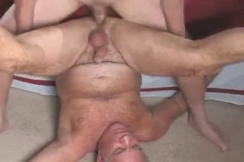 enjoyable old man sucking & Getting drilled By Younger man