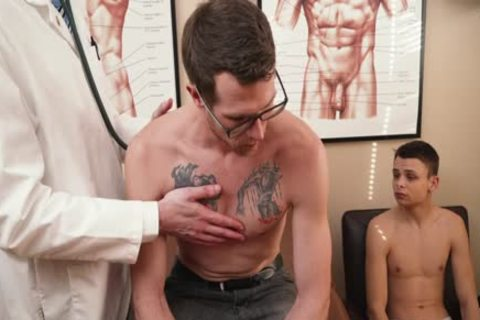 Father Son Doctor's Visit