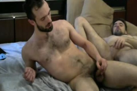 hairy studs butthole nailing On cam