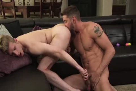 charming Stepdad Uses dildo On Stepson
