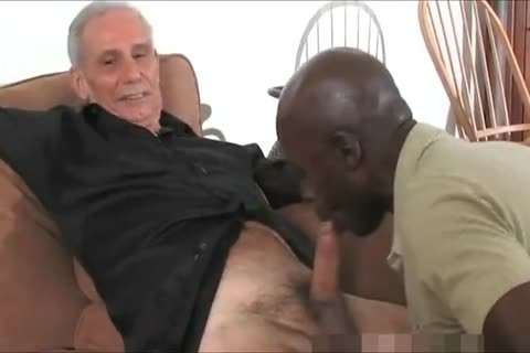 older black Daddy And Three White grand-dad S One good T