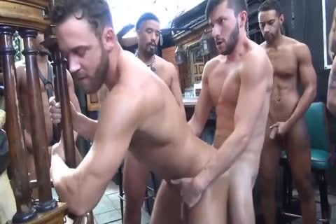 Cumdump S bare bunch gangbang