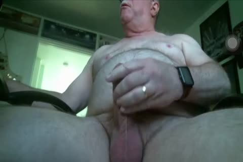chubby Daddy enormous penis