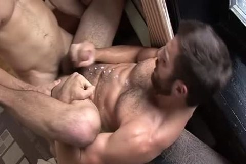 Stretched Open By His best friend's cock