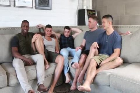 'Sexiest Muscle men On PornHub get A Star Studded homo fuckfest jointly. One For The Books!'
