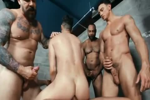homosexual orgy group gangbang HUNKS monstrous dongs video By GrzeGoRzUni1988